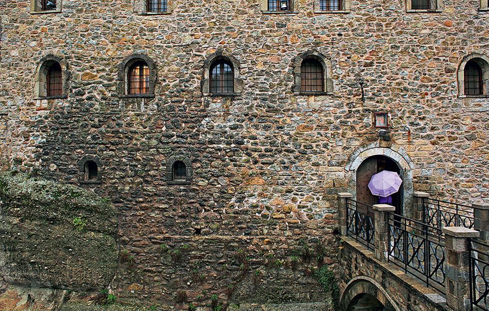 Η Μονή του Αγίου Στεφάνου θεωρείται η πλέον προσβάσιμη στα Μετέωρα. (Φωτογραφία: ΝΙΚΟΣ ΚΟΚΚΑΣ)