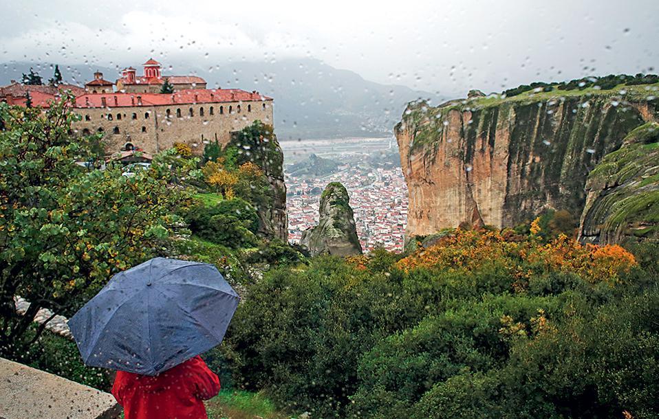 Αποψη της Μονής του Αγίου Στεφάνου.  (Φωτογραφία: ΝΙΚΟΣ ΚΟΚΚΑΣ)