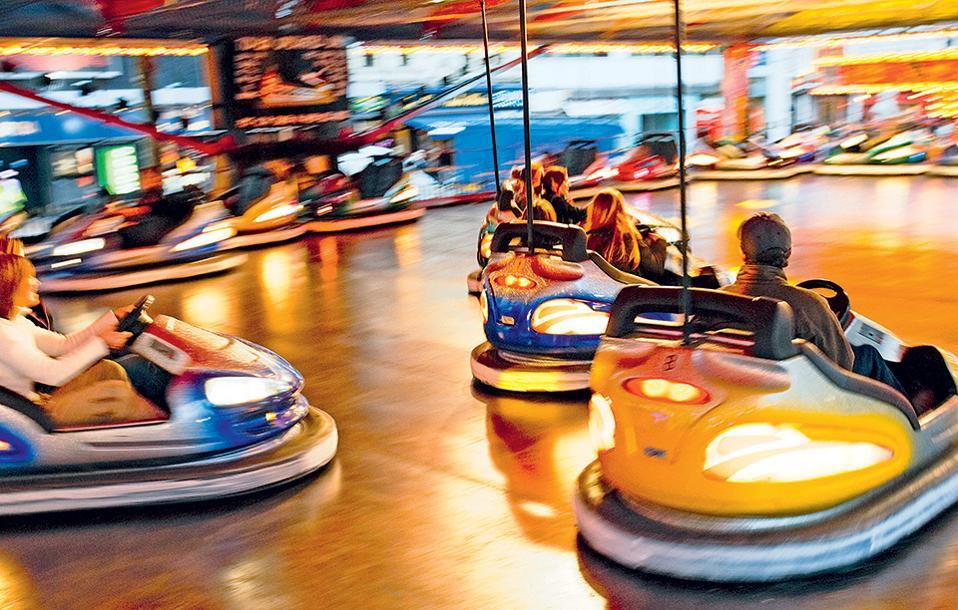 Ευκαιρία για διασκέδαση στη Leicester square. ( Φωτογραφία: VISUALHELLAS.GR)