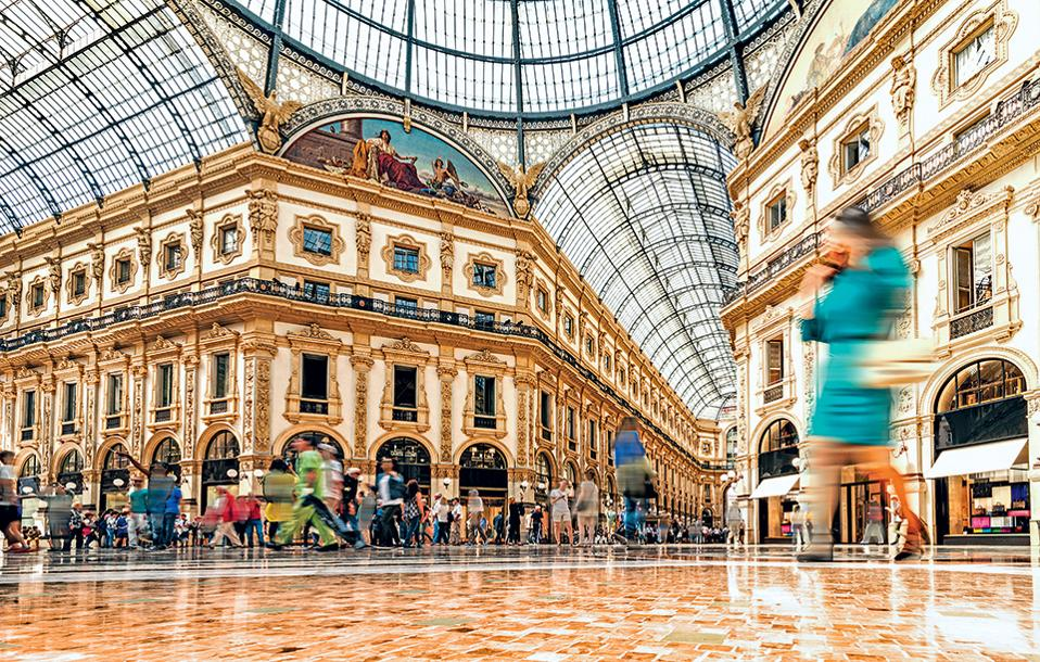 1. The Galleria Vittorio Emanuele II, Μιλάνο (Φωτογραφία: GETTY IMAGES/IDEAL IMAGE)