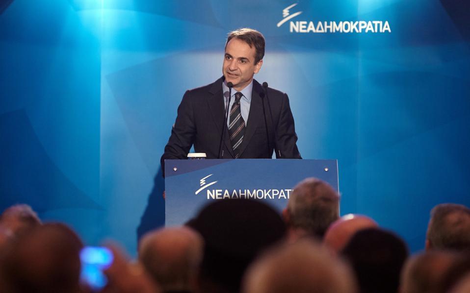 Ο πρόεδρος της Νέας Δημοκρατίας Κυριάκος Μητσοτάκης αναμένεται να επαναλάβει σήμερα, από το συνέδριο της ΚΕΔΕ στη Θεσσαλονίκη, την ανάγκη για πολιτική αλλαγή.