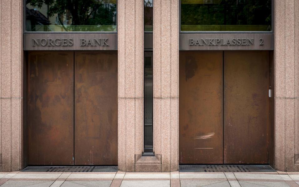 Το Δ.Σ. της κεντρικής τράπεζας της Νορβηγίας συνέστησε χθες την επένδυση επιπλέον 130 δισ. δολαρίων σε μετοχές.