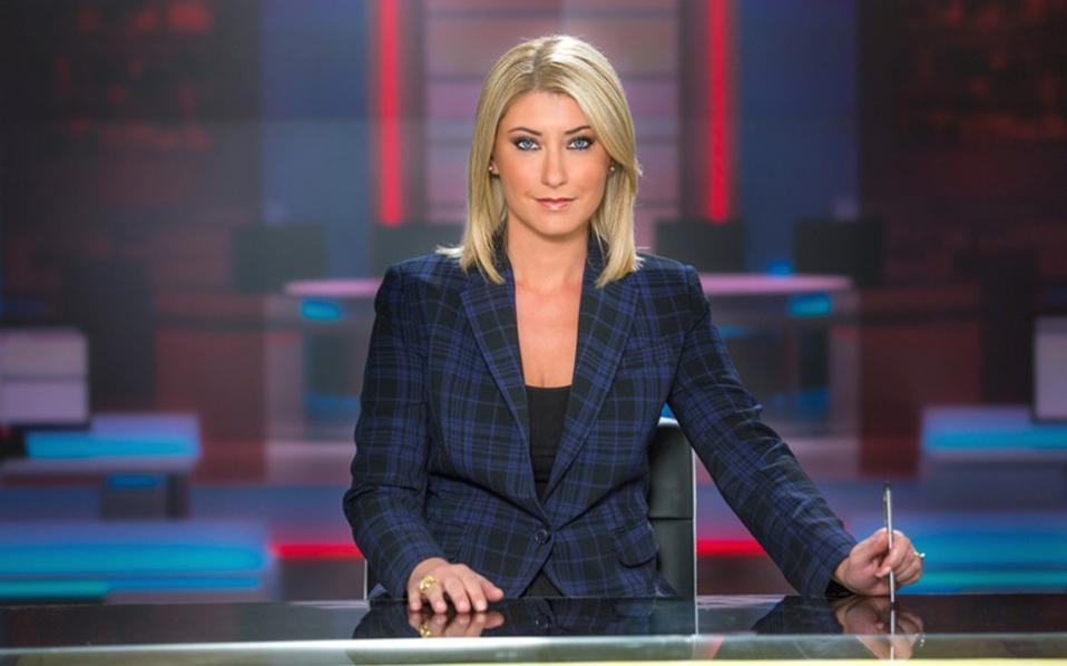 Σταθερό κοινό έχει το κεντρικό δελτίο ειδήσεων του ΣΚΑΪ με τη Σία Κοσιώνη.