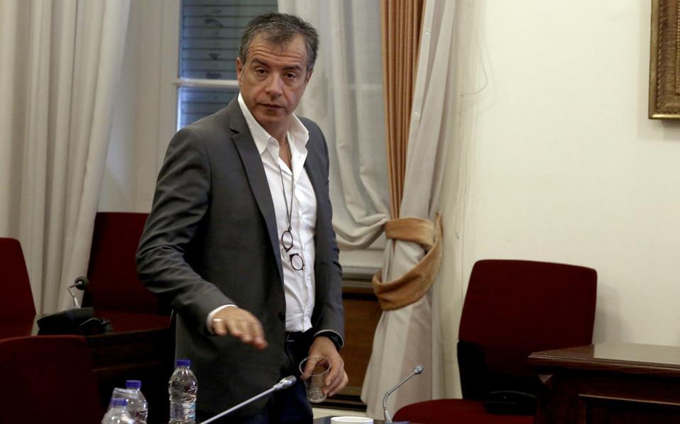 Η πρόταση του κ. Σταύρου Θεοδωράκη αρχικώς αντιμετωπίστηκε θετικά από το ΠΑΣΟΚ, αλλά και τη Νέα Δημοκρατία.
