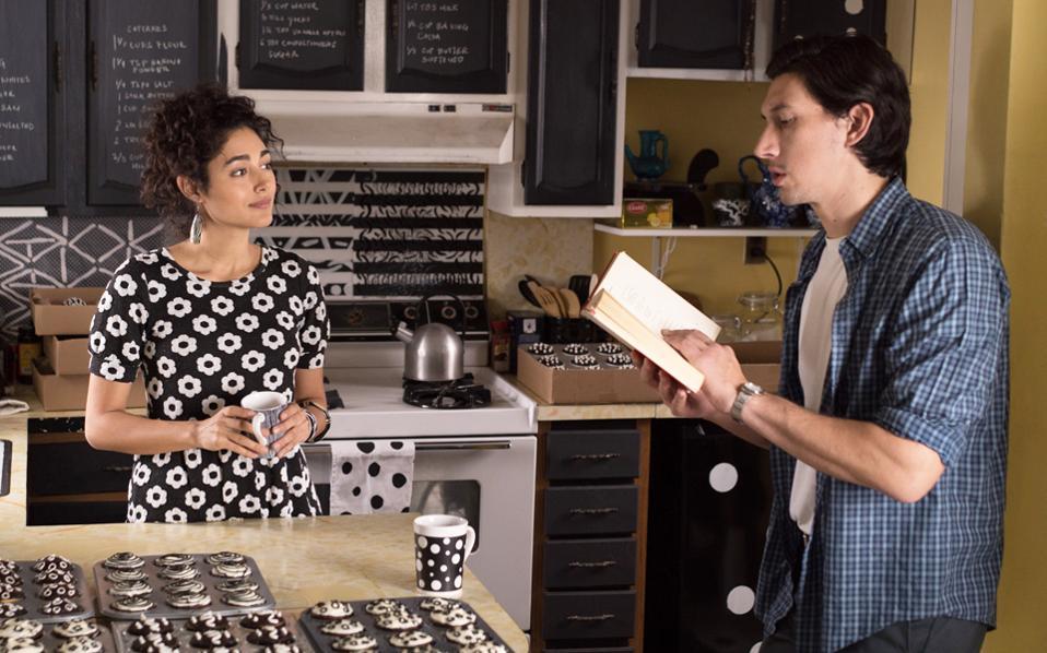 Η Γκολσεφτί Φαραχανί και ο Ανταμ Ντράιβερ (Πάτερσον) στο «Paterson».