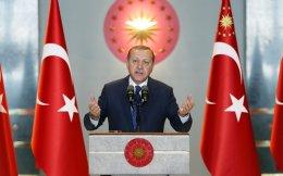 Τις προθέσεις των διεθνών παραγόντων βολιδοσκοπεί  ο Τούρκος πρόεδρος Ρετζέπ Ταγίπ Ερντογάν.