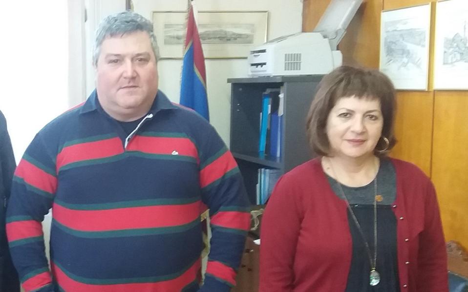 Τη Δευτέρα συναντήθηκαν ο πρόεδρος του ΤΕΙ Δυτ. Ελλάδας, Βασίλης Τριανταφύλλου και η βουλευτής του ΣΥΡΙΖΑ Εφη Γεωργοπούλου-Σαλτάρη.