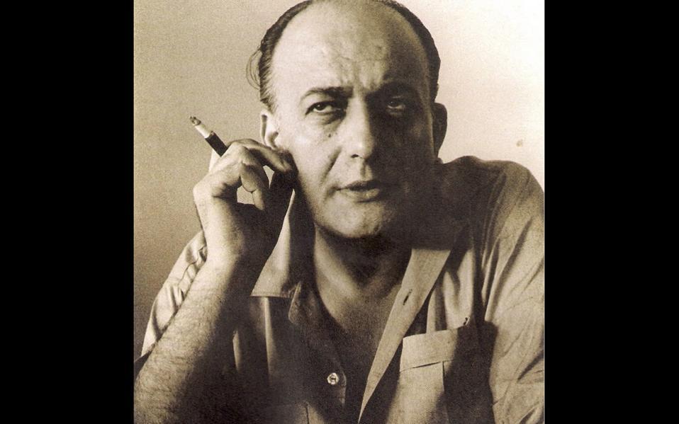 Nίκος Γκάτσος  (1911-1992), ο ποιητής που φτέρωσε το ελληνικό τραγούδι.
