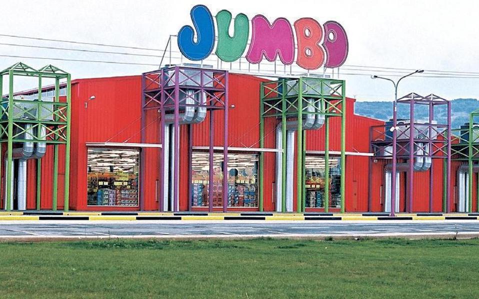 Σήμερα το δίκτυο καταστημάτων Jumbo αριθμεί 72 καταστήματα. Από το σύνολο των καταστημάτων, 51 βρίσκονται στην Ελλάδα, 5 στην Κύπρο, 9 στη Βουλγαρία και 7 στη Ρουμανία, ενώ ο όμιλος διαθέτει και το ηλεκτρονικό κατάστημα www.e-jumbo.gr.
