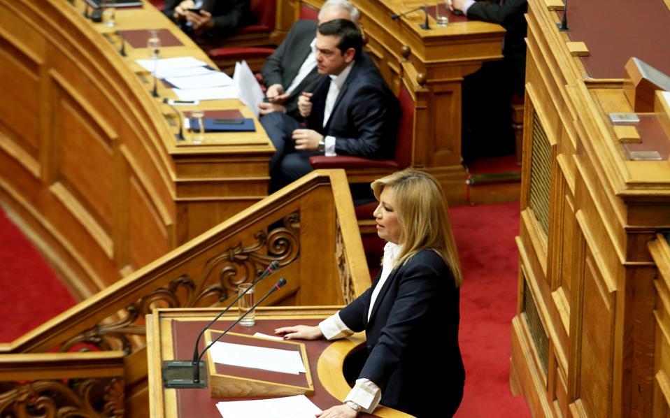 """«Επιχειρείτε να φτιάξετε το """"ΣΥΡΙΖΑ News""""», είπε  η κ. Φώφη Γεννηματά."""