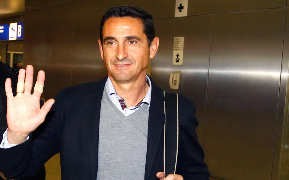 Ο Ισπανός προπονητής επέστρεψε χθες στην Ελλάδα.