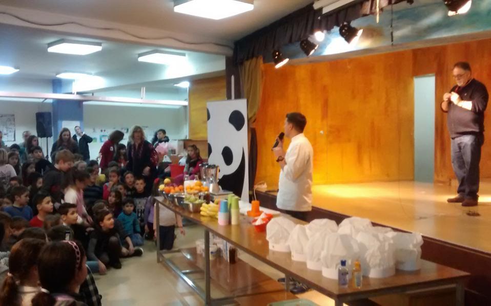 Το πρόγραμμα της WWF Hellas, σε συνεργασία με το Χαροκόπειο Πανεπιστήμιο, γνωρίζει μεγάλη επιτυχία στα σχολεία όπου παρουσιάζεται.