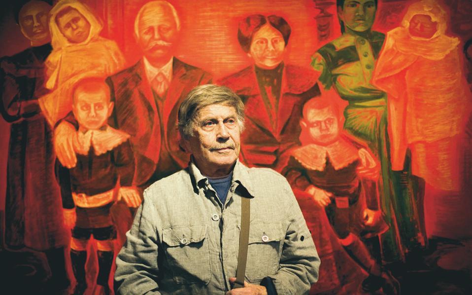 Ο Γιάννης Μιγάδης φωτογραφημένος από την Ελισάβετ Μωράκη το 2008.