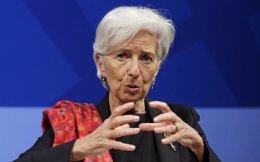 Η επικεφαλής του ΔΝΤ Κριστίν Λαγκάρντ.
