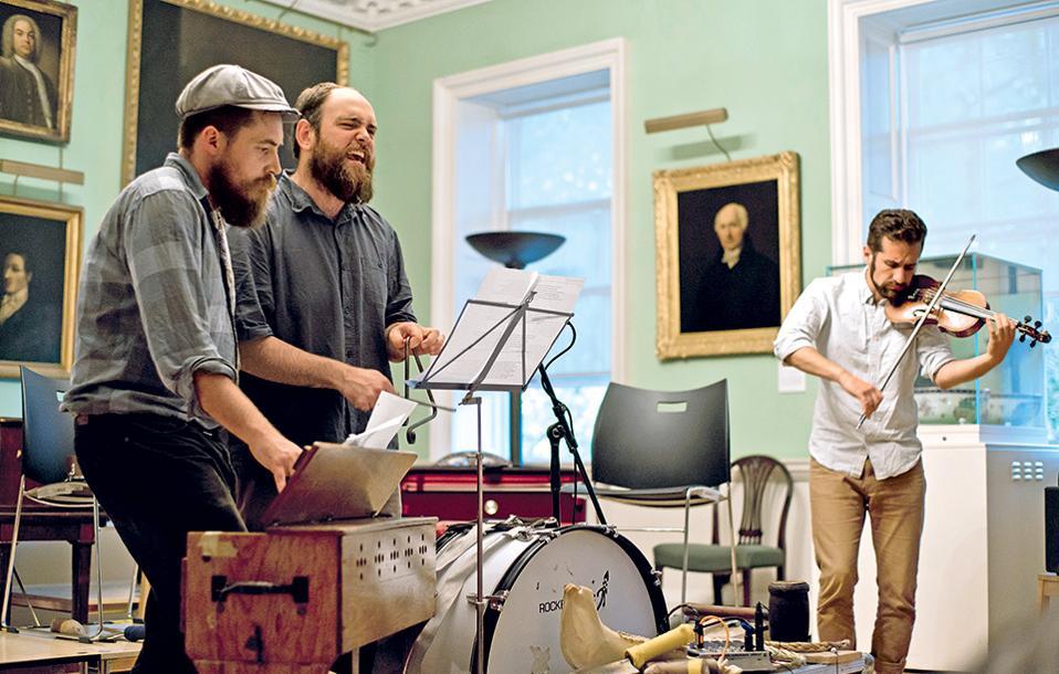 Live μουσικές εμφανίσεις εντάσσονται συχνά στο πρόγραμμα του Foundling Μuseum. (Φωτογραφία: Ed Lyon)