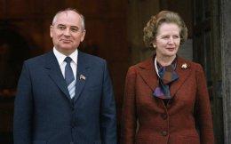 Μιχαήλ Γκορμπατσόφ και Μάργκαρετ Θάτσερ, την εποχή που ο πρώτος ήταν ηγέτης της ΕΣΣΔ και η δεύτερη πρωθυπουργός της Βρετανίας.