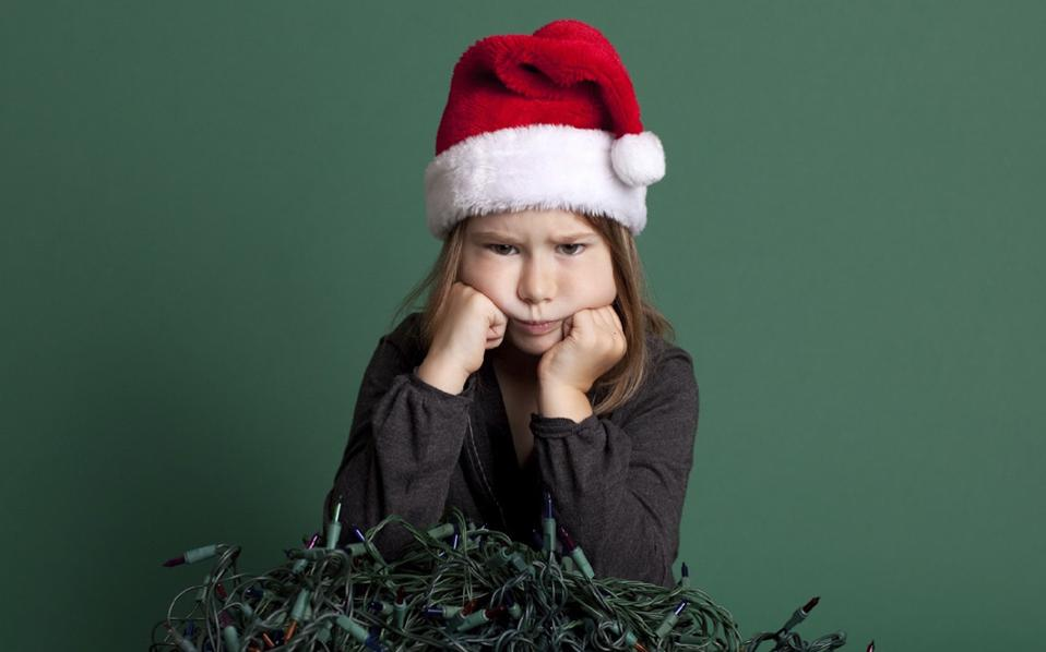 Για ορισμένους, η περίοδος των εορτών είναι απλώς αφόρητη.