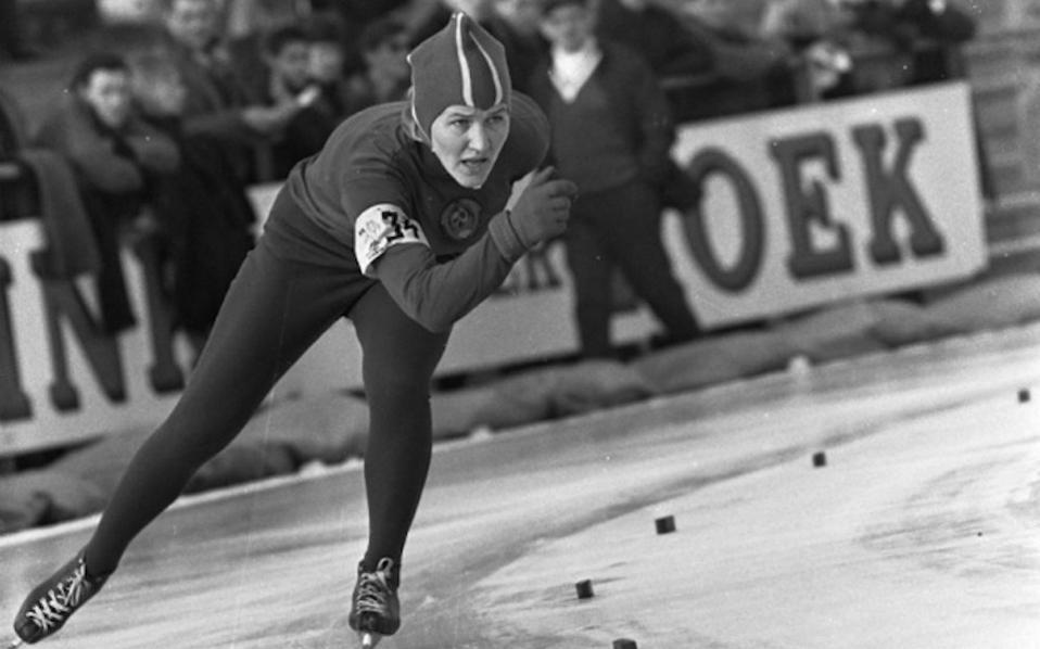 Στο πατινάζ ταχύτητας η νεαρή Λιντία έβλεπε να συνδυάζονται οι δύο μεγάλες αγάπες της: ο στίβος και το σκι.