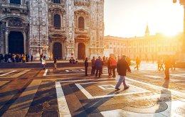 Η Piazza del Duomo πήρε το όνομά της από τον Καθεδρικό Ναό της πόλης. (Φωτογραφία: SHUTTERSTOCK)