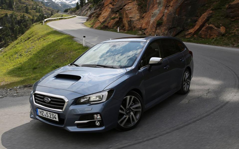 Τα κρατήματα του νέου Subaru Levorg σε μια διαδρομή με συνεχόμενες κλειστές στροφές ήταν υποδειγματικά.