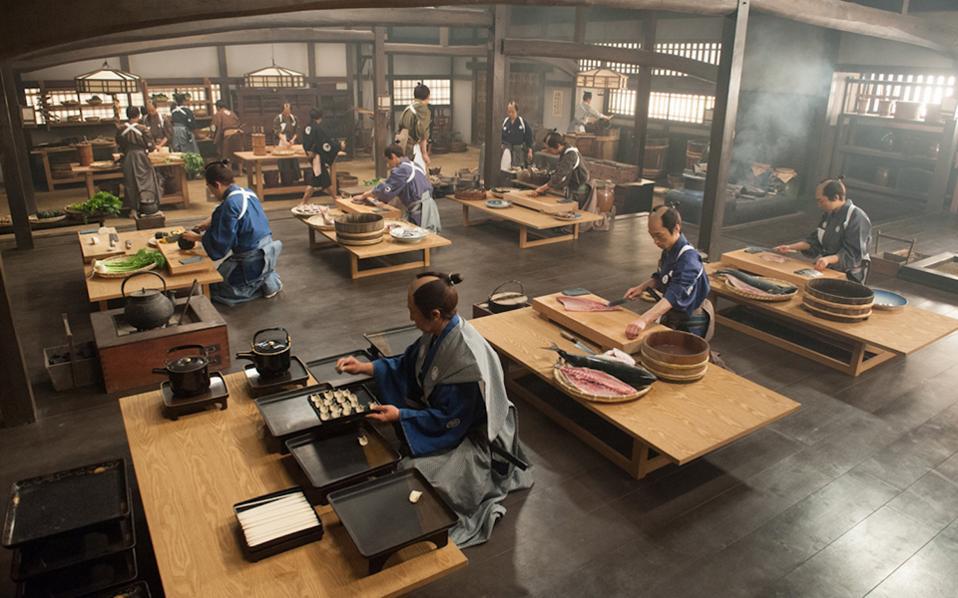 Οι τέσσερις ταινίες του φεστιβάλ αποτελούν μια βεντάλια αισθητικής προσέγγισης της ιαπωνικής διατροφικής φιλοσοφίας.