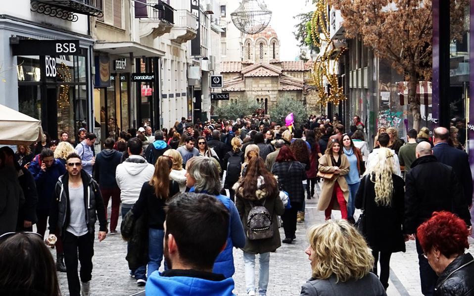 Μεγαλύτερες απώλειες φαίνεται να υπέστησαν οι επιχειρήσεις που βρίσκονται στο κέντρο της Αθήνας.