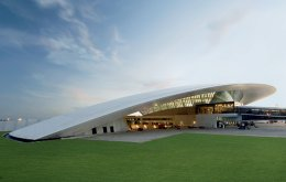 1. Carrasco International Airport, Μοντεβιδέο (Φωτογραφία: Art of the Airport pg 150-1 (c) Daniela MacAdden)