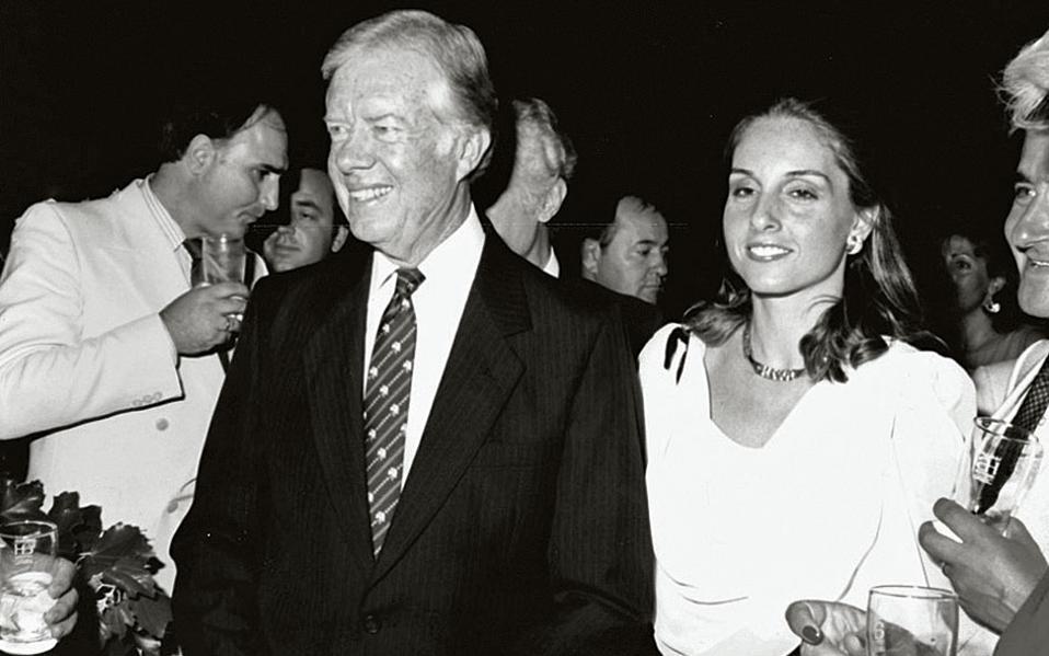 Ο πρώην πρόεδρος των ΗΠΑ Τζίμι Κάρτερ.