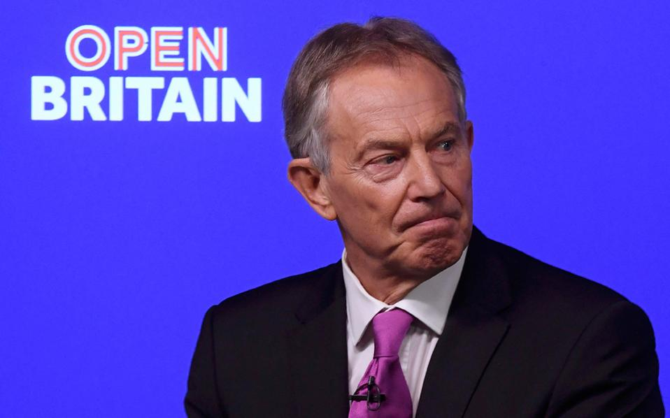 Εκκληση του Τόνι Μπλερ προς τους συμπατριώτες του «να ξεσηκωθούν» ώστε να αναστείλουν την έξοδο της Βρετανίας από την Ευρωπαϊκή Ενωση.