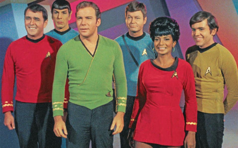 Το πλήρωμα του «Enterprise» ήταν διεθνές και διαφυλετικό. Το Star Trek είναι μια έκκληση για ενότητα μέσω της πολυμορφίας.