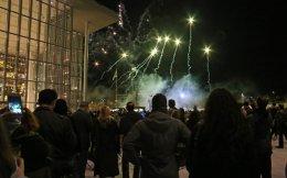 Φαντασμαγορική η τελετή παράδοσης του Κέντρου Πολιτισμού Ιδρυμα Σταύρος Νιάρχος στο Δημόσιο την Παρασκευή.