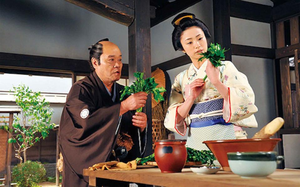 Σκηνή από την ταινία «A Τale of Samurai Cooking».