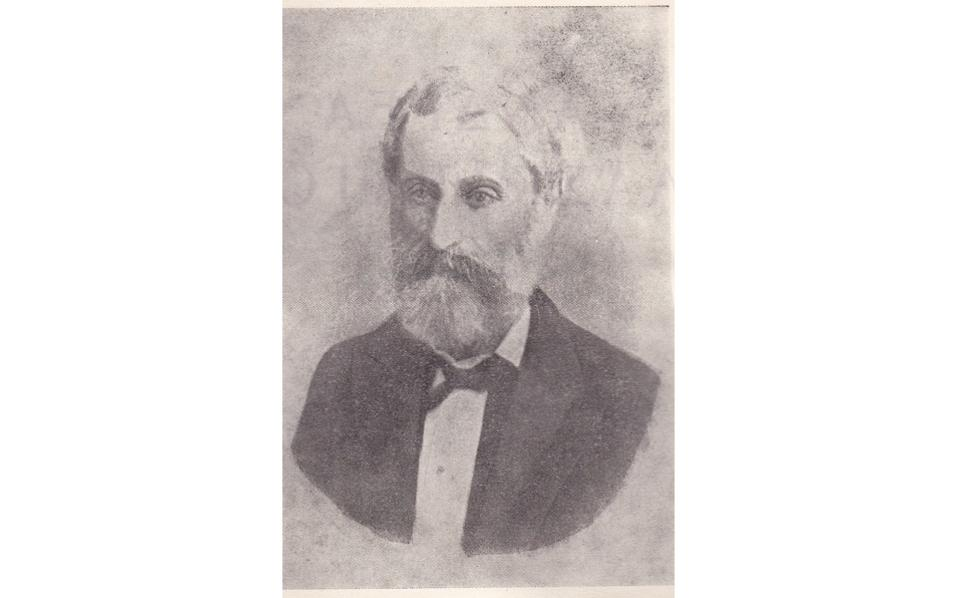 O σατιρικός ποιητής και στοχαστής Ανδρέας Λασκαράτος.