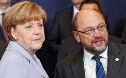 Σουλτς - Μέρκελ. Ο πρώτος προηγείται, αλλά κανείς δεν διαβεβαιώνει πως θα έχει το προβάδισμα έως τις εκλογές.