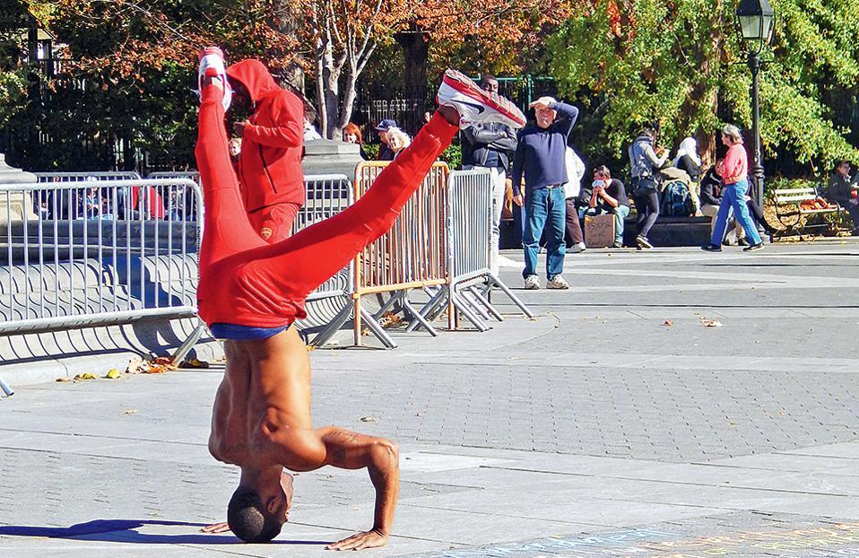 street-performance-manhattan