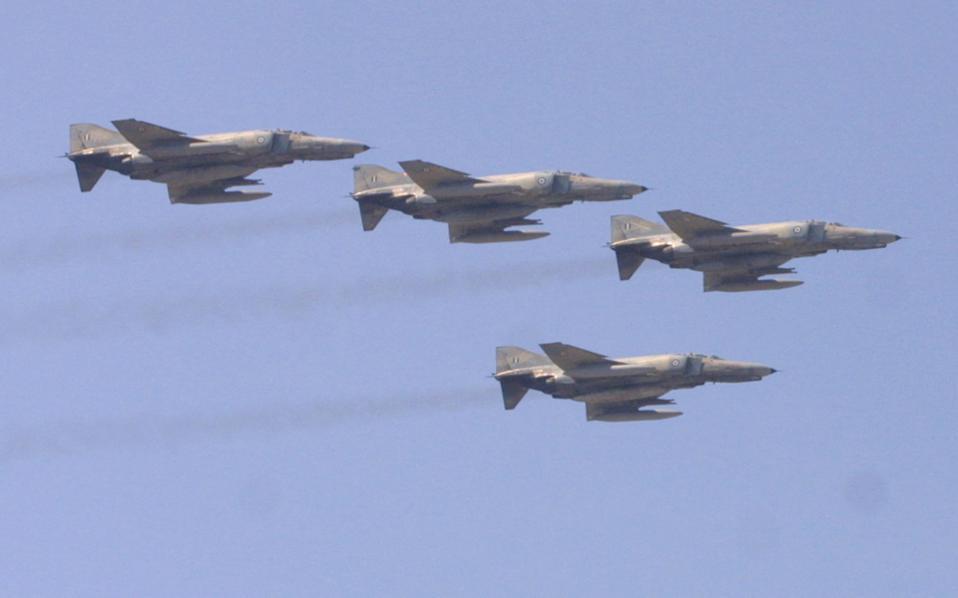 Οι εμπλοκές των F-16 της Πολεμικής Αεροπορίας με τουρκικά μαχητικά έχουν αυξηθεί το τελευταίο διάστημα.
