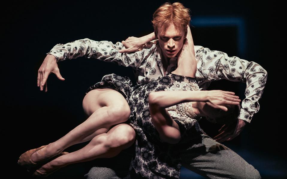 Σκηνή από τη χορογραφία «Shut Eye», που θα παρουσιάσει το Nederlands Dans Theater.
