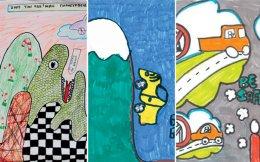 Η ΕΛ.ΑΣ. έλαβε 280 ζωγραφιές μαθητών από όλη την Ελλάδα, οι οποίες συνθέτουν την έκθεση που θα φιλοξενηθεί στο Golden Hall έως τις 5 Απριλίου.