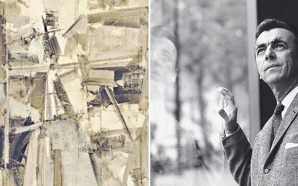 Εργα του Γιάννη Σπυρόπουλου, του κλασικού της αφαίρεσης, θα εκτίθενται για ένα χρόνο στο Ιστορικό Μουσείο Κρήτης.