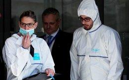 Στις 16 Μαρτίου εξερράγη το παγιδευμένο δέμα στα γραφεία του ΔΝΤ στο Παρίσι.