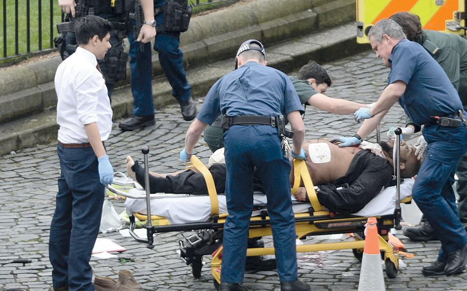 Ο Χαλίντ Μασούντ, 52 ετών, από το Κεντ, με βεβαρημένο ποινικό μητρώο, ήταν ο δράστης της επίθεσης.
