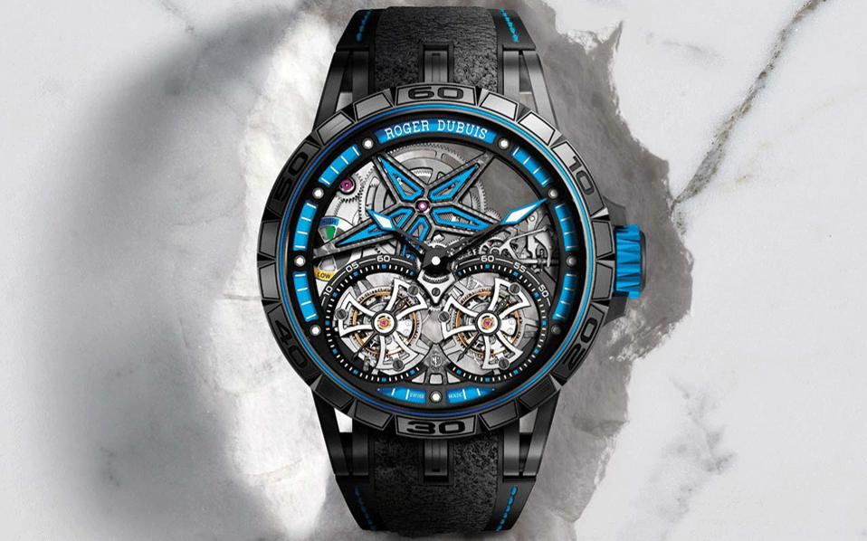 ROGER DUBUIS Excalibur Spider Pirelli | hours