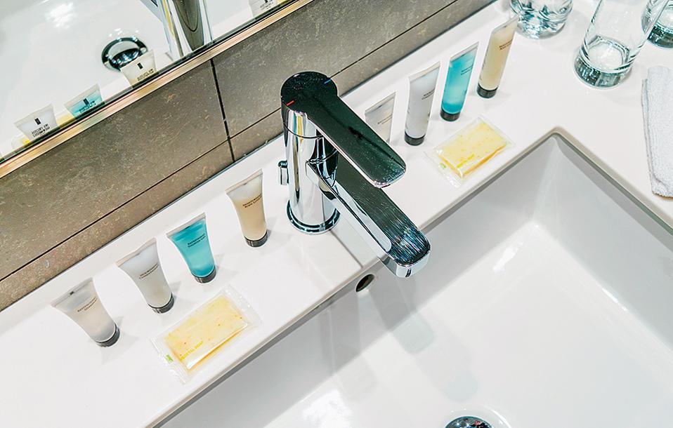 Τα ξενοδοχειακά amenities απογειώνουν την εμπειρία του ταξιδιώτη. (Φωτογραφία: SHUTTERSTOCK)