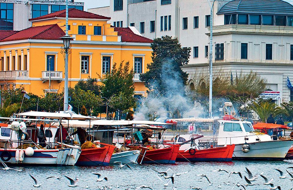Το λιμάνι του Βόλου. (Φωτογραφία: ΚΛΑΙΡΗ ΜΟΥΣΤΑΦΕΛΛΟΥ)