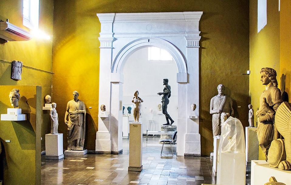 Αρχαιολογικό Μουσείο (Φωτογραφία: AFP/VISUALHELLAS.GR)