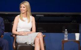 Η κόρη του Ντόναλντ Τραμπ, Ιβάνκα, στον Λευκό Οίκο.