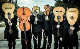 To Athens Chamber Ensemble ερμηνεύει το Stabat Mater στην Αγγλικανική Εκκλησία.