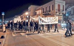 Αντιφασιστική πορεία είχε πραγματοποιηθεί στη Χίο, μετά τα επεισόδια που έλαβαν χώρα στη Σούδα, τον Νοέμβριο.