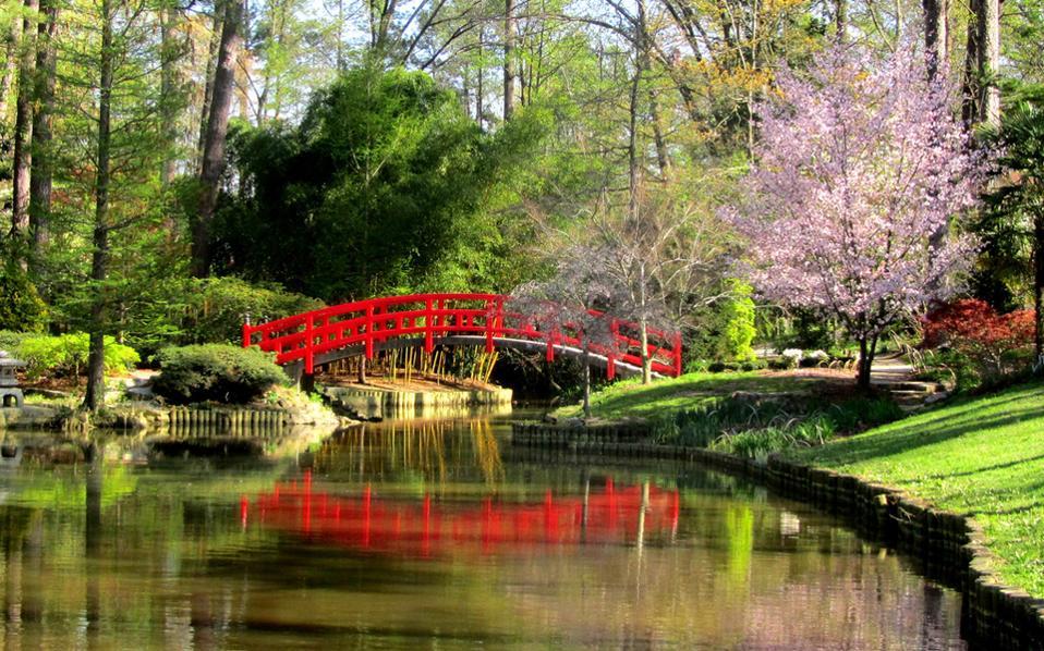 Οι υπέροχοι κήποι του Πανεπιστημίου Ντιουκ.