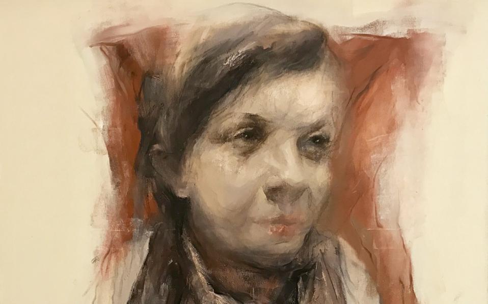 «Χωρίς τίτλο», έργο του Βασίλη Σούλη (λάδι σε καμβά, 2016).